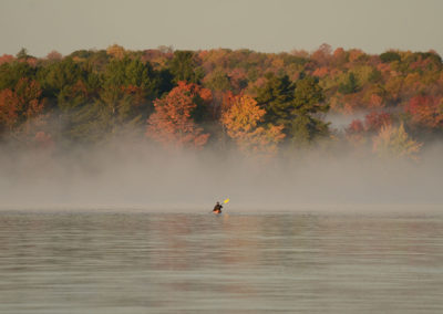 Morning Kayak on Wolfe Lake